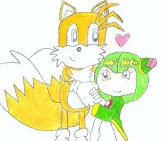 Cosmo and Tails by SonicXfan007