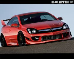 AM-Opel Astra 'TWIN TOP' by adrianmolina