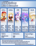 (CLOSED) Commissions - Pricing and Layout by Banzatou