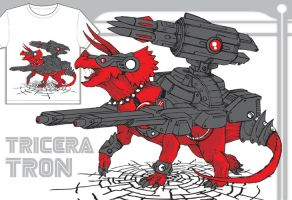 Cybersaurs:TRICERATRON by GuitarAtomik