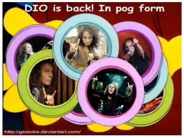 DIO is back... In pog form by Giosuke