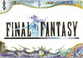 Final Fantasy I Logo by Paulcellx