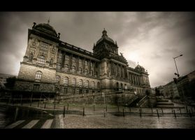 The National Museum by Beezqp
