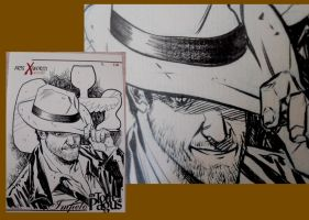 Comicsxafrica labels - Indiana Jones by elena-casagrande