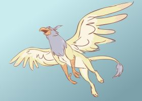 doodly griffin by nut-meggers