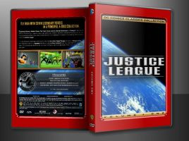 JUSTICE LEAGUE V1 CUSTOM COVER IN CASE by SUPERMAN3D