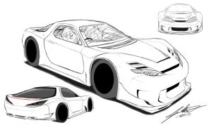 RX7 2010-2012 concept sketch4 by wingsofwar