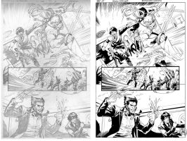 Lupacchino - X-Factor #229 pg12 INKS by MrSrone