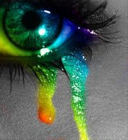 Rainbow Tears by extremerebirth1