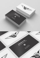 Free PSD Business Card Template Mockup by Designslots