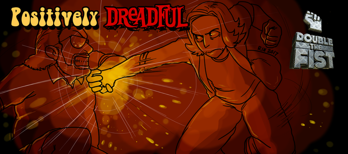 Title Card: Double the Fist by RinLockhart