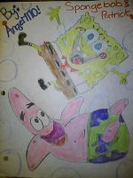 SpongeBob and Patrick by Angelgirl10