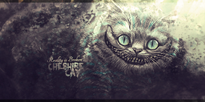 Cheshire Cat Signature V2 by Tyler-TDWP-apokolypz