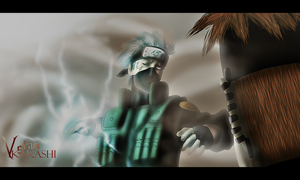 Pain vs Kakashi by Sinist3r-Depht