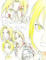 Edward Elric by porkybun