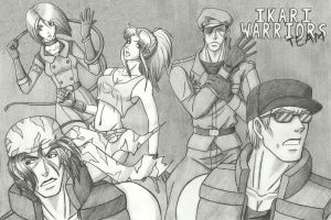 Complete Ikari Warriors Team by KN-KL