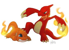 #005 Charmeleon by StarvingStudents