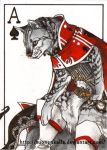 ACEO: Ace of Spades by Tuonenkalla