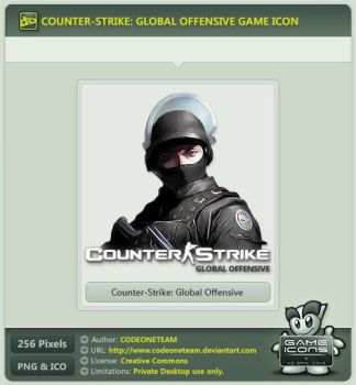 Counter-Strike: Global Offensive Icon by CODEONETEAM