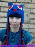 Monster Love Crochet Hat by NightsMemories