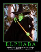 Elphaba Poster by mbc12-5-58