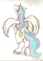 Pony Costume Theory: Celestia by FoxOFWar