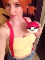 Closet Cosplay Misty from Pokemon by Pokypandas