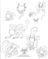 SlenderCats by Twisted-Persona