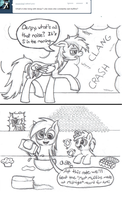 Ask Dash and Derpy #1 by BatmanBrony