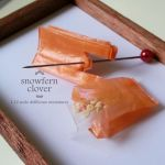 1:12 scale dollhouse miniature plastic bags by Snowfern