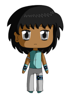 [Commission] Mini Chibi Troy by izka197