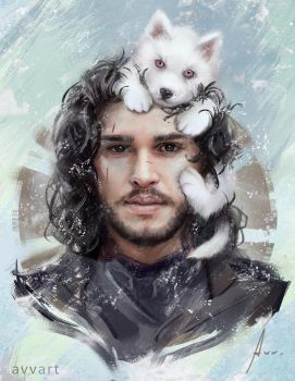 Jon Snow by avvart