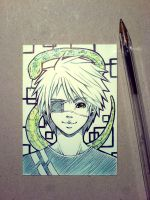 snake boy Sasha by DarkHajime