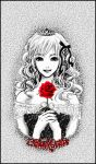 ..::single red rose::.. by 13BlackGothic
