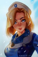 Mercy uprising by EvaS0L0