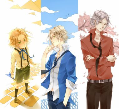 GOKUDERA-DIFFERENT AGES by cintychikooo