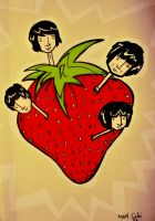 strawberry fields by Chebi
