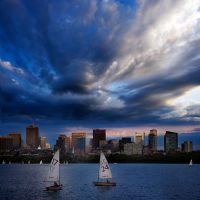17... 24... the Boston skyline by VaggelisFragiadakis