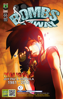 BombsAway issue 5 Joy Tribute variant cover by hollowpointstudios