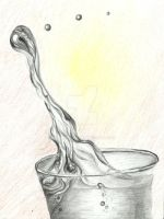 Hot Refreshment - Original for sale by Windklang