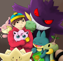 South Park- Eric (Chin)Pokemon Team by Awkward-Hermit