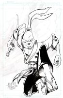 Usagi Yojimbo - Stone - Egli - Inks by SurfTiki