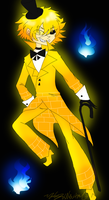 Human Bill Cipher by HezuNeutral