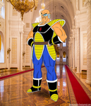 Prince of Vegeta-sei: Nappa, The Royal Guard by HalfSaiyanHeart