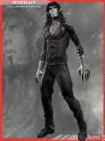 Morbius the Living Vampire MCU by dbvinal