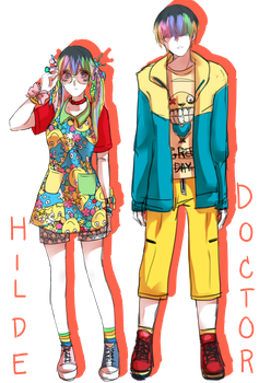 OC:Hilde and The Doctor by CrazyDarin