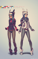 May Gunn Twins by dCTb