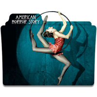 American Horror Story Freak Show Folder Icon by poxabia