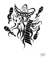 Mariachi shoggoth by ServantofEntropy