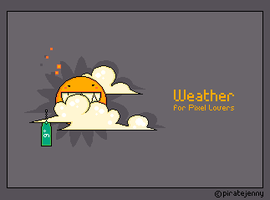 Pixel Lover Weather by PirateJenny00